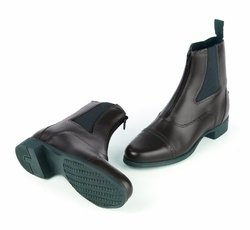 Ovation Women's Finalist Zip Paddock Boot - Black - Size: 5.5 US