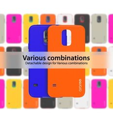 Araree AMY for Galaxy S5 Carrying Case - Orange/Blue (ARAY-SGS5ORBL)