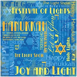 Karen Foster Design Scrapbooking Paper, 25 Sheets, Hanukkah Collage, 12 x 12""