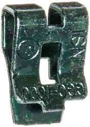 Grounding Clip, Green