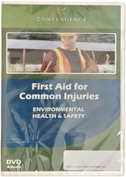 Convergence C-170 First Aid for Common Injuries Training Program DVD, 37 minutes Time