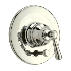 Rohl ARB2400LMPN Arb2400Lm Verona Shower Valve Trim (Trim Only) with Metal Lever Handle And, Polished Nickel