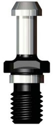 "Lyndex B40-6000 J Style BT Retention Stud, 60 Degree Angle, M16P2 Thread, 0.59"" Diameter"