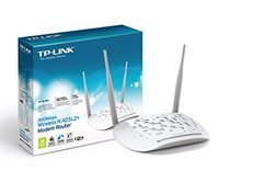 TP-Link 2.4Ghz 300Mbps Wireless N300 ADSL2+ Modem Router (TD-W8961ND)