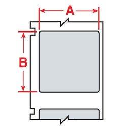 Brady CL-2439-969, 32677 Ls2000 Printer Labels (Pack of 5 pcs)