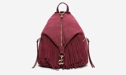 Sociology Suede Fringe Mini Backpack - Port