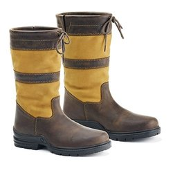 Ovation Women's Adie Country Boot Brown 8 US