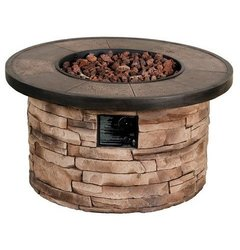 """Threshold Chisholm 32"""" Round LP Fire Table"""