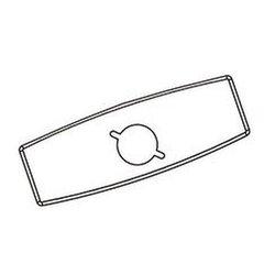 Moen 104428 Commercial 4-Inch Deckplate for 8305-8308, Chrome