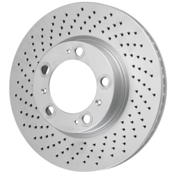 Bosch 16010246 QuietCast Premium Disc Brake Rotor for Vehicles