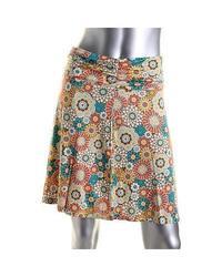 White Sierra Women's Printed Dailey Duty Skirt - Multi Combo - Size: Large