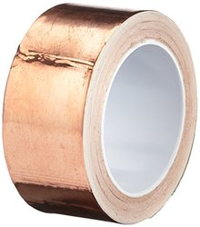 "TapeCase 1"" W x 6Yd L Converted from 3M 1181 Copper Foil Tape - 1 Roll"