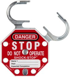 SPC Shock-Stop Lockout Hasp (Pack of 5)