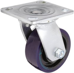 RWM Casters Freedom 48 Series Plate Caster - Purple (9866055)