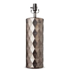 Threshold Metallic Ceramic Large Lamp Base - Bronze Glaze