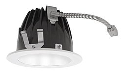 RAB Lighting High-End LED Down Round Trim Light (NDLED4R-50Y-W-W)