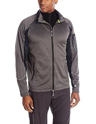 Tamagear Men's Saddleback Full Zip Mid-Layer Jacket - Charcoal - Size: XXL