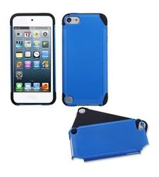 MyBat Frosted Fusion Protector Cover for Apple iPod touch 5 - Blue/Black