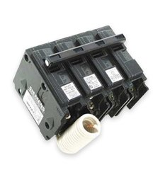 Siemens Q31500S01 240-Volt type MP-T 15-Amp Circuit Breaker with 120-Volt Shunt Trip Three pole