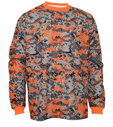 Vizari Deceptor Camo GK Jersey, Orange/Grey/Black, Youth Medium