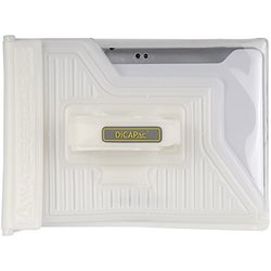 "DiCAPac WP-T20 PC Series Waterproof Case for 10"" Universal Tablet - White"