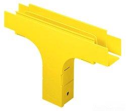 Panduit FVT4X4YL Raceway Vertical Tee, Yellow