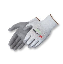 Liberty X-Grip Polyurethane Palm Coated Glove with 13-Gauge Wooltran Polyester Shell, Cut Resistant, 2X-Small, Gray (Pack of 12)