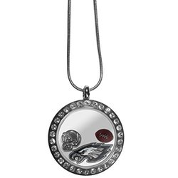 NFL Philadelphia Eagles Women's Locket Necklace, Metal, 18""