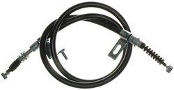 ACDelco 18P1261 Professional Rear Passenger Side Parking Brake Cable Assembly