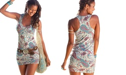 Paisley Women's Mini Dress - Size: Med