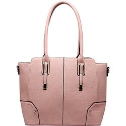 MKF Collection Harper Shoulder Bag - Pink
