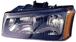 Depo 335-1124L-AS Chevrolet Silverado Driver Side Replacement Headlight Assembly