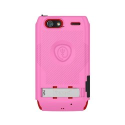 Trident Build Your Own KRAKEN A.M.S. Case for Droid Razr Maxx - Retail Packaging - Pink/Maroon