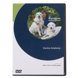PetEdge Paragon Pet Styling Series DVD Canine Anatomy (ZT190 11 12)