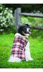 Outdoor Dog Country Plaid Dog Coat Small Multi Color Multi Color