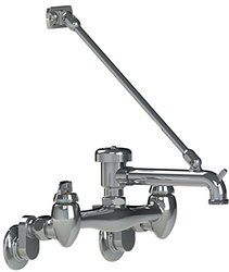 "Union Brass 131-EQ Spout Standard Vacuum Breaker, 6.5"", Polished Chrome"