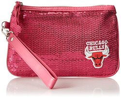 NBA Chicago Bulls Stat Handbag, Neon Pink