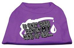 My Kind of Gas Screen Print Shirts Purple XXXL(20)