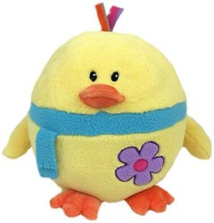 "GabiToy 11"" Round Easter Friend Chick Yellow Plush Toy - Multi"