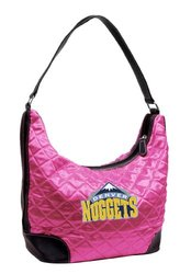 NBA Denver Nuggets Quilted Hobo - Pink