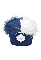 Concept One Men's NHL Leafs Faux Hair Beanie - Multi - Size: One Size