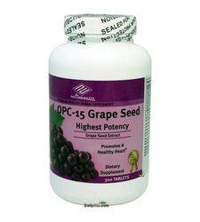 NuHealth OPC-15 Grape Seed Extract 100Mg 300Counts