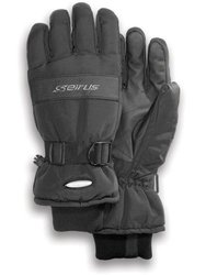 Seirus Innovation Men's Vector Neofleece Glove, Black, Small