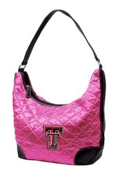 NCAA Texas Tech University Pink Quilted Hobo