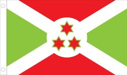 Allied 3'x5' Outdoor Nylon Burundi Country Flag