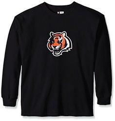 NFL Cincinnati Bengals Men's Long Sleeve T-Shirt - Black - Size: 6XL