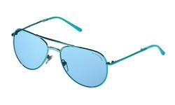 Burberry Women's Non-polarized Sunglasses - Turquoise/Blue (3071-117980)