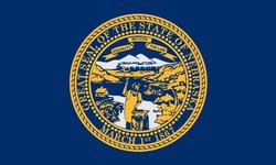 Heath Outdoor 35028 3-Feet by 5-Feet Nebraska Flag