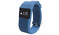 Bluetooth Fitness Tracker with Heart Rate Monitor - Dark Blue