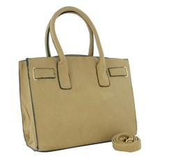 Royal Boudoir WK Collection Women's Tote Handbag - Beige
